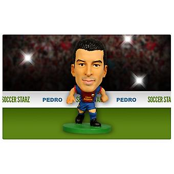 Soccerstarz Barcelona Home Kit Pedro Rodriguez