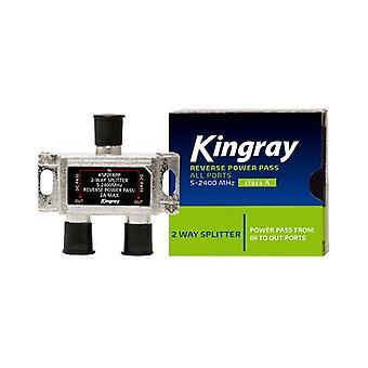 Kingray omvendt strøm passerer alle porter 2-veis splitter
