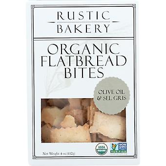 ريفي مخبز Flatbread لدغة أولف النفط، حالة من 12 × 4 أوقية