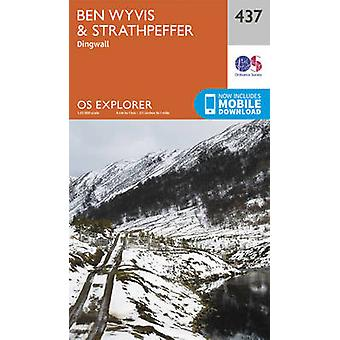 Ben Wyvis and Strathpeffer by Ordnance Survey