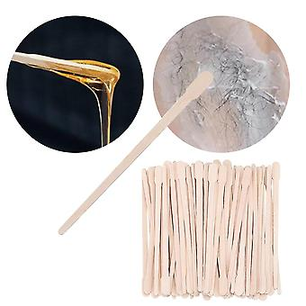 Holz Wachsstab Wachsbohne wischen Wachs Mix Werkzeug Körper Haarentfernung
