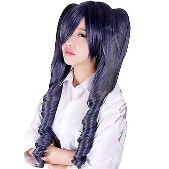 Black Butler Anime Wigs With Clips Synthetic Hair Wigs