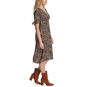 Jessica Simpson Womens Cecilia Printed Midi Dress