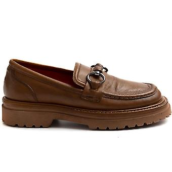 Women's Moccasin Zoe Full 04 Leather Leather
