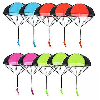 Parachute Toy 10pieces,children's Flying Toys Tangle Free Throwing