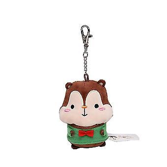 Squly Friends Plush Doll Toy Keychain Pendant Squirrel Doll 22cm