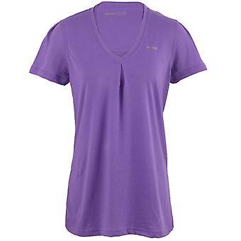 Reebok EasyTone Double Womens Training Fitness T-Shirt Tee Purple