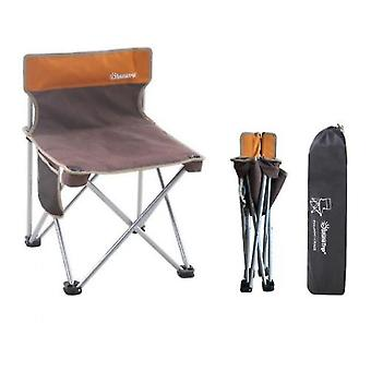 Camping Beach Fishing Chair Outdoor Folding Chair Portable Stool Sketching Chair(Group4)
