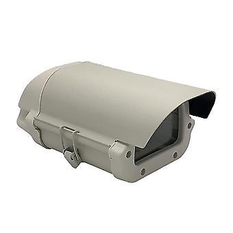 Waterdichte aluminium behuizing doos met slot en helder glas voor cctv camera