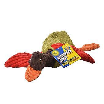 Petsport Tuff Squeak Unstuffed Goose Plush Dog Toy - 1 Goose (Assorted Colors)