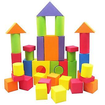 Baby Intelligenz Übung Baustein Block Sichere Schaumkonstruktion Soft Block Spielzeug Baby| Blöcke