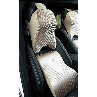 AutoTyyny Premium Lannerangan vyötärötuki Selkänojan niskatuen tyyny Matkustaminen