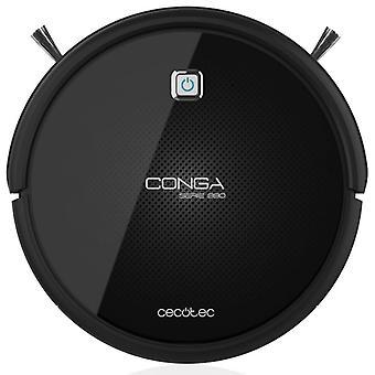 Cecotec Conga Serie 990 Excellence. Robot Aspirador Que Friega, Con 4 Cepillos Laterales, 220-240/50 Hz, Negro