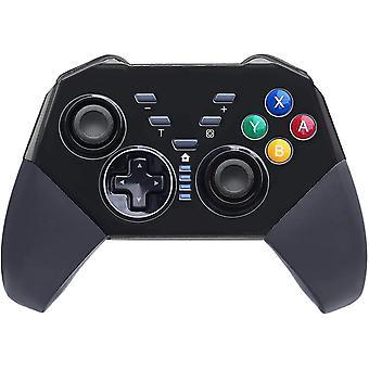 Játékvezérlők vezeték nélküli pro vezérlő kompatibilis kapcsoló giroszkóp tengely kettős sokk játékpad joypad