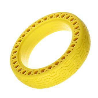 Outdoor chairs hollow solid tire for xiaomi m365 electic scooter adjusted anti-slip yellow color