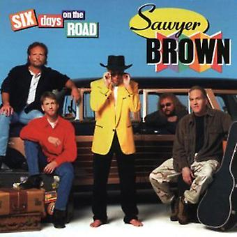 Sawyer Brown - Six Days on the Road [CD] USA import