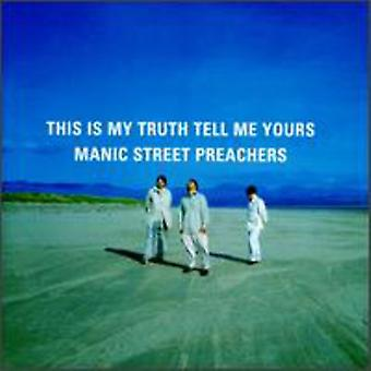Manic Street Preachers - This Is My Truth Tell Me Yours [CD] USA import
