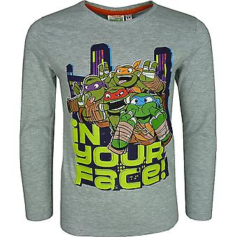 Nickelodeon Boys Ninja Turtles Long Sleeve Top / T-Shirt