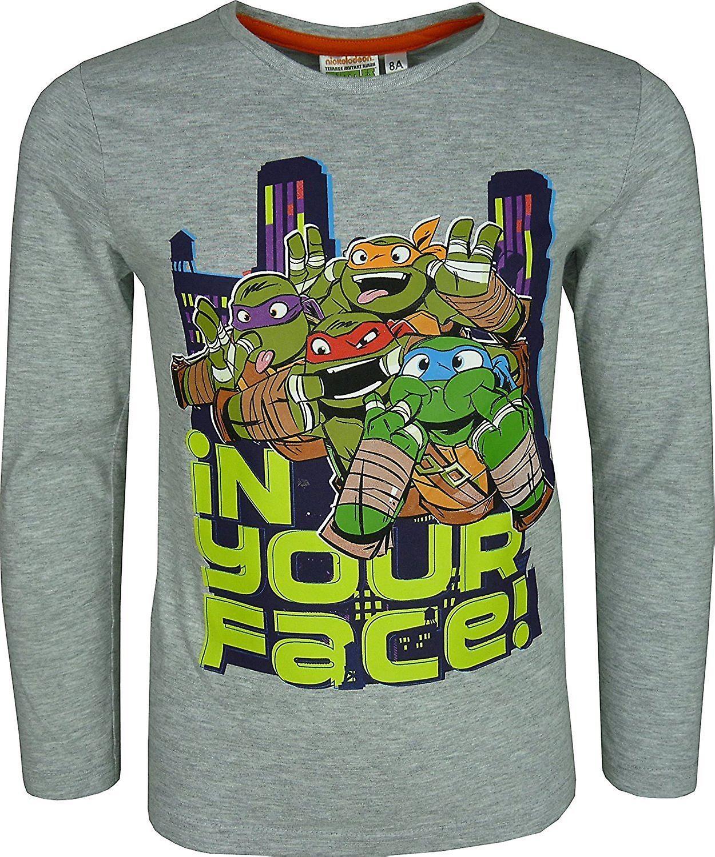 Nickelodeon Boys Ninja Turtles Long Sleeve Top / T-Shirt