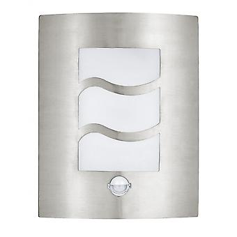 Eglo City Outdoor Stainless Steel Wall Light