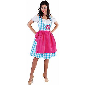 Trajes de mulheres mulheres Dirndl vestido Tyrol