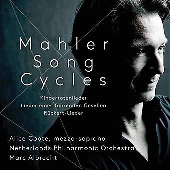 Mahler / Coote / Albrecht - Mahler Song Cycles [SACD] USA import