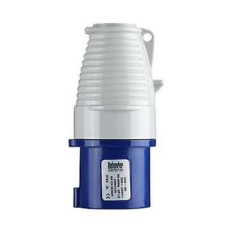 Defender 16amp Plug - Blue - Display Packed 240V