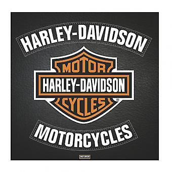 Harley Davidson - nahka juliste Juliste Tulosta