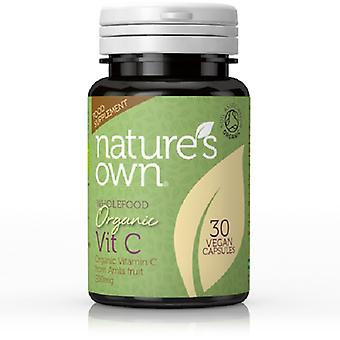 Natures Own Organic C 200mg [from Amla], 30 capsules