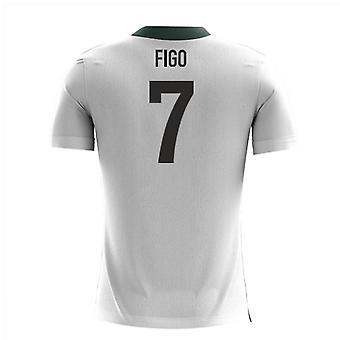2020-2021 Portugal Airo Concept Away Shirt (Figo 7) - Kids