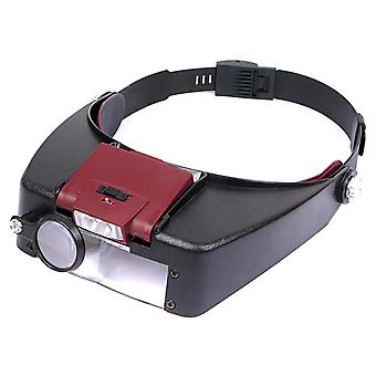 Tiltable LED Headband Magnifier