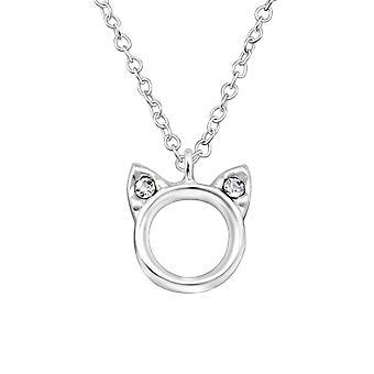 Katten - 925 Sterling sølv halskjeder - W33154x