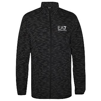 Ea7 Black & Grey Digital Camo Windbreaker