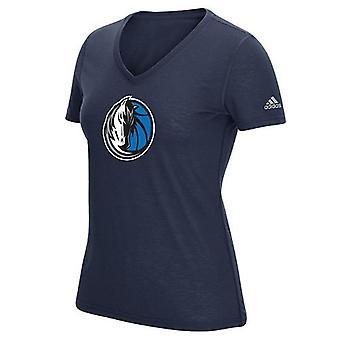 Golden State Warriors NBA 5th & Ocean Women's V-Neck Logo Tee