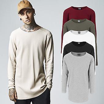 Urban classics - muotoinen HÖPÖTTÄÄ pitkähihainen paita tavallista pidemmät