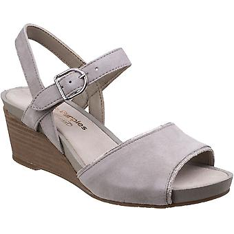 Hush Puppies Womens/Ladies Cassale Buckle Ankle Strap Wedge Sandals