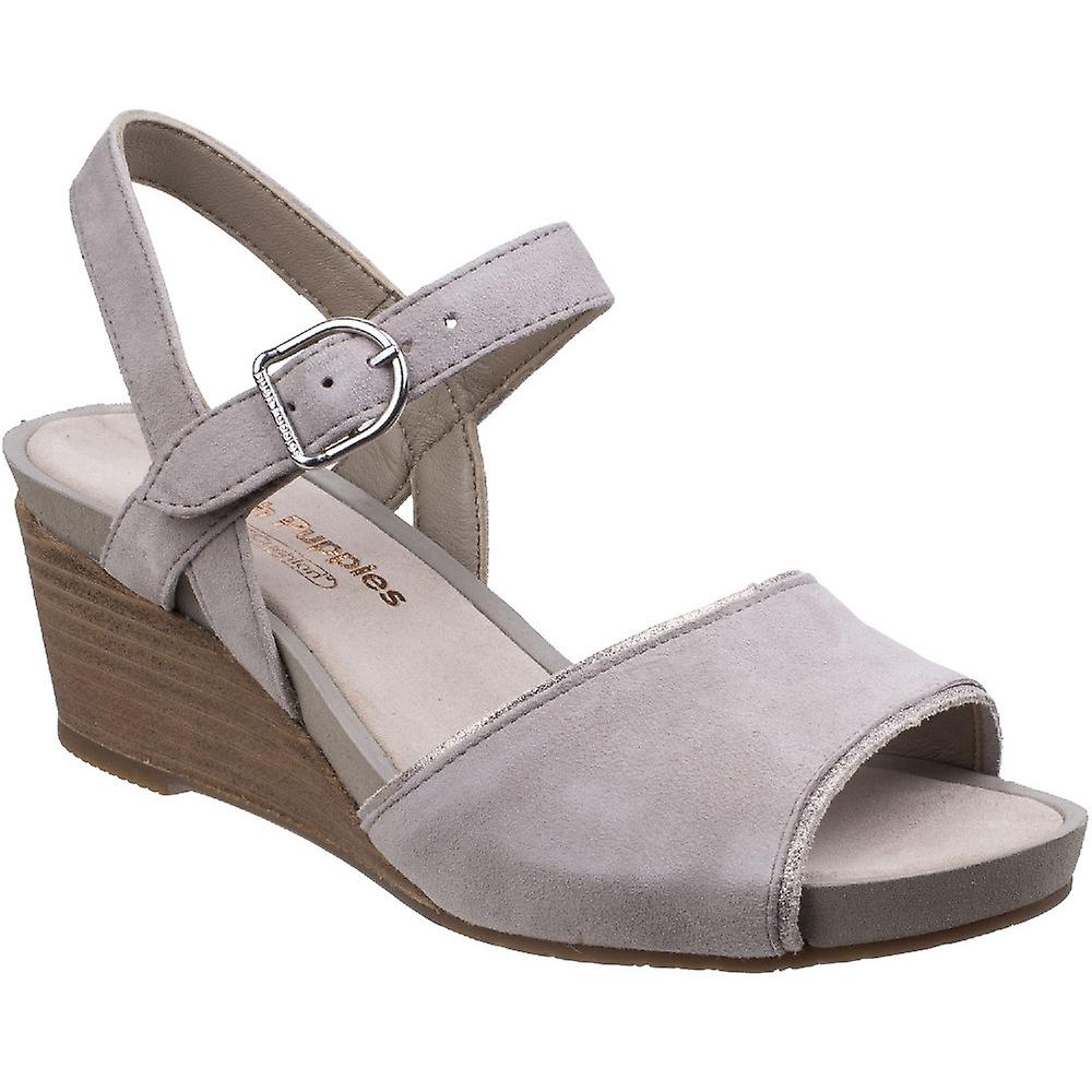 Hush Puppies Womens/Ladies Cassale Buckle Ankle Strap Wedge Sandals ipzwY