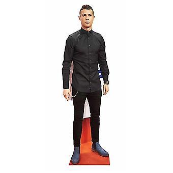 Christaino Ronaldo vida tamaño cartulina recortable