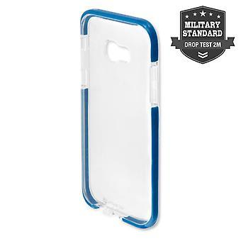 MILITARY soft cover AIRY-SHIELD cover for Galaxy A5 2017 A520F TPU Blau