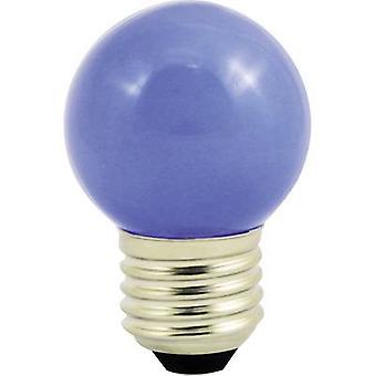 LightMe LM85251 LED (monochrome) E27 Droplet 1 W Blue (Ø x L) 45 mm x 70 mm 1 pc(s)