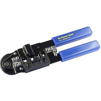 أداة تجعيد اليد 2980027-01 الأزرق، بلاك بيل ستيوارت موصلات 2980027-01 1 جهاز كمبيوتر (ق)