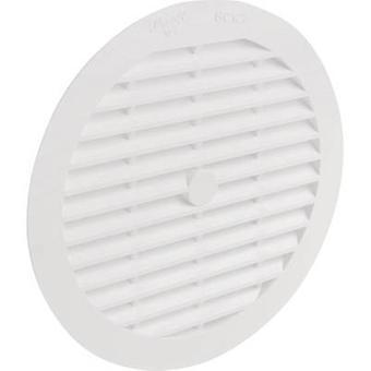 Wallair N32921 grelha de ventilação plástico apropriado para o diâmetro da tubulação: 12,5 cm