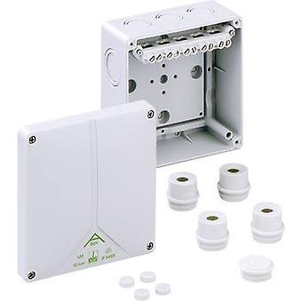 ה81041001 בקופסא המשותפת (L x W x H) 140 x 140 x 79 mm אפור IP65