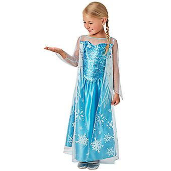 エルザの子供のための古典的な衣装を凍結
