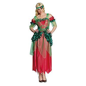 Waldfairy fairy dress of Fairydress leaf fairy costume for women
