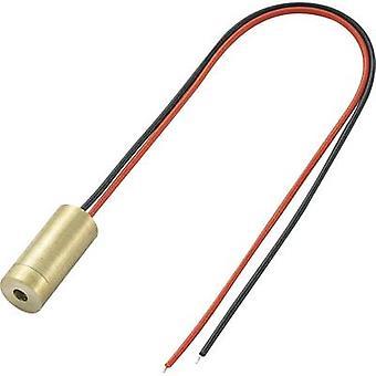 TRU COMPONENTS Laser module Dot Red 1 mW LM01RDD