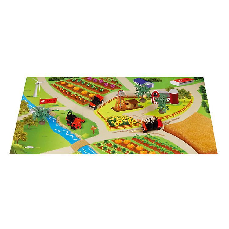 مجموعة اللعب كوبوتا المناظر الطبيعية مع حصيرة اللعب