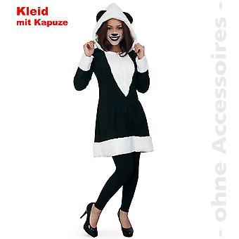 Panda bear dame kostume damer Panda bear Kina Panda dress kostume med hætte