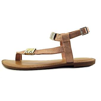B. MAKOWSKY Womens Verna Open Toe Casual Ankle Strap Sandals