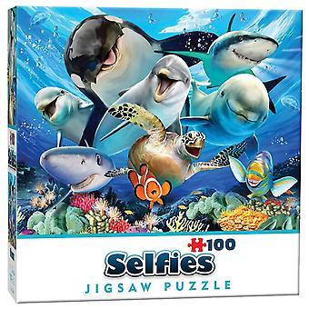 Ozean Selfie Mini Jigsaw Puzzle (100 Stück)